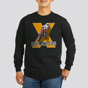 Extreme Motocross Long Sleeve Dark T-Shirt