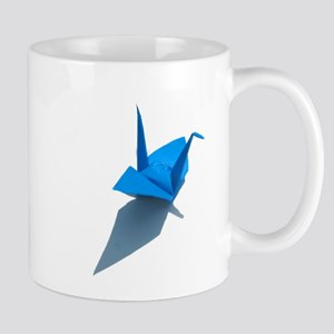 OrigamiBlueCrane camara Mug