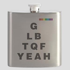 GLBTQF YEAH!  Flask