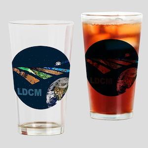 LDCM logo Drinking Glass