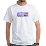 Kitty Good & Ungood Tail Days White T-Shirt