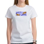 Kitty Good & Ungood Tail Days Women's T-Shirt