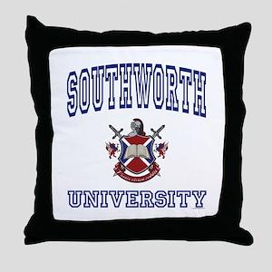 SOUTHWORTH University Throw Pillow