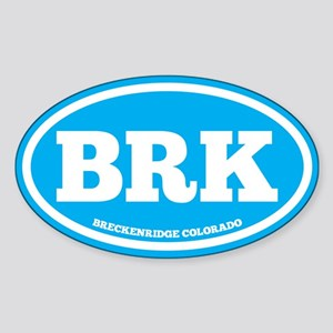 Breckenridge Chunky Sticker (Oval)