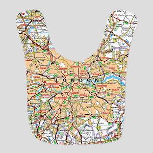 Map of London England Bib