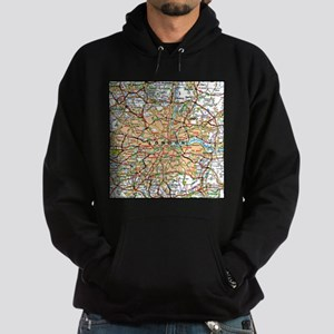 London souvenir sweatshirts hoodies cafepress map of london england hoodie dark gumiabroncs Gallery
