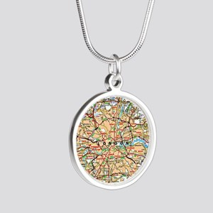 Map of London England Necklaces
