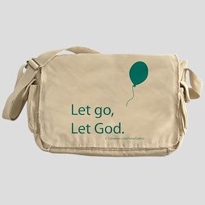Let go Let God Messenger Bag
