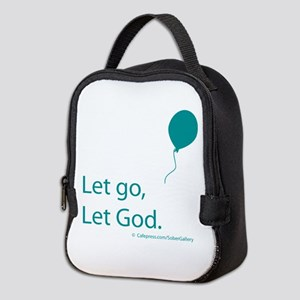 Let go Let God Neoprene Lunch Bag