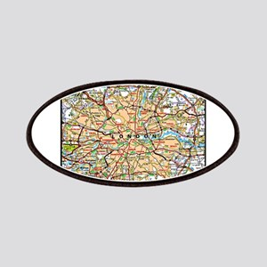 Map of London England Patches