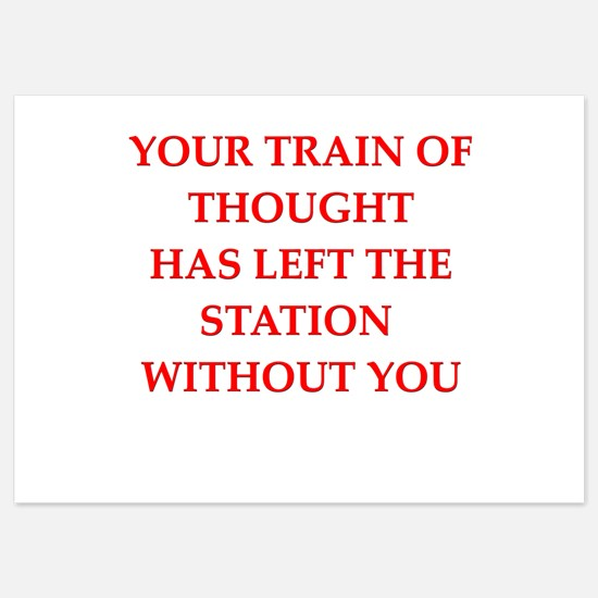 train of thought Invitations