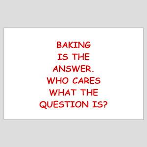 baking Large Poster