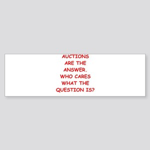 auction Sticker (Bumper)
