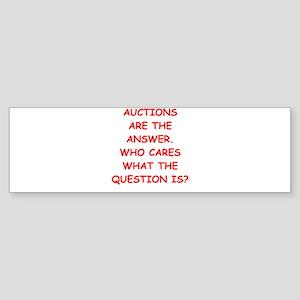 auction Sticker (Bumper)