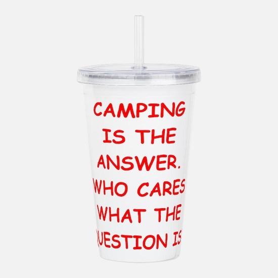 camping Acrylic Double-wall Tumbler