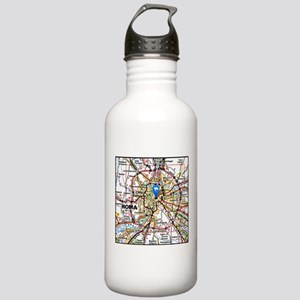 Map of Rome Italy Stainless Water Bottle 1.0L