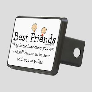 Best Friends Rectangular Hitch Cover