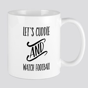 football cuddles Mugs