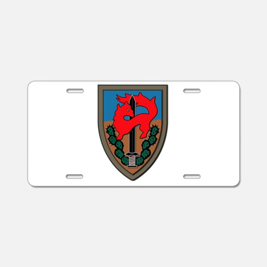Israel - Givati Brigade - N Aluminum License Plate