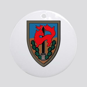 Israel - Givati Brigade - No Text Ornament (Round)
