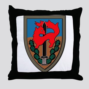 Israel - Givati Brigade - No Text Throw Pillow