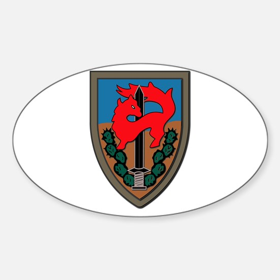 Israel - Givati Brigade - No Text Sticker (Oval)
