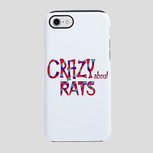 Crazy About Rats iPhone 7 Tough Case
