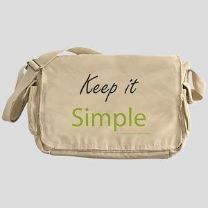 Keep it Simple Messenger Bag
