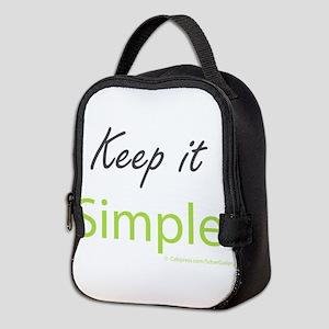 Keep it Simple Neoprene Lunch Bag