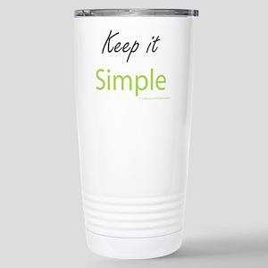 Keep it Simple Stainless Steel Travel Mug