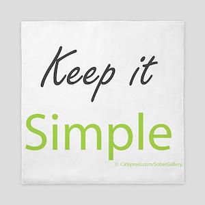 Keep it Simple Queen Duvet