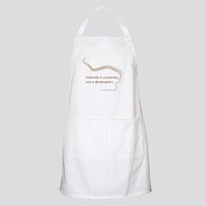 sobriety is a journey Apron