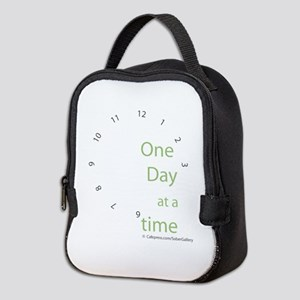 One Day at a Time Neoprene Lunch Bag