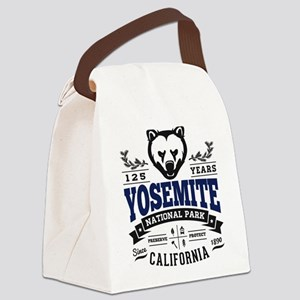 Yosemite Vintage Canvas Lunch Bag