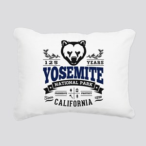 Yosemite Vintage Rectangular Canvas Pillow