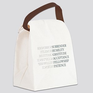 Surrender Canvas Lunch Bag
