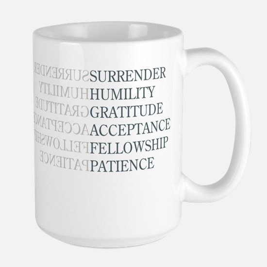 Surrender Large Mug