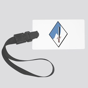 188th-Armored-Brigade-NoText Large Luggage Tag