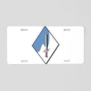 188th-Armored-Brigade-NoTex Aluminum License Plate