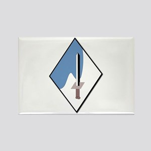 188th-Armored-Brigade-NoText Rectangle Magnet