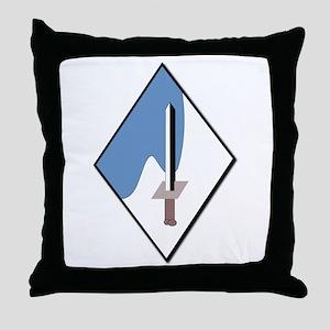 188th-Armored-Brigade-NoText Throw Pillow