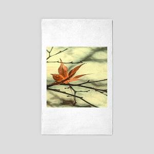 autumn maple leaves fall landscape 3'x5' Area Rug