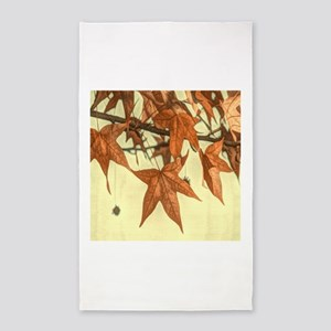 autumn maple leaves fall 3'x5' Area Rug
