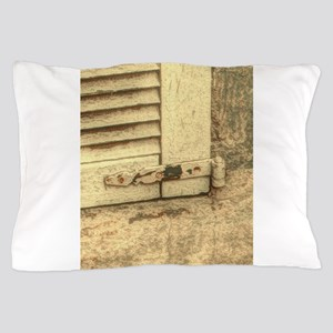 rustic window western country farm h Pillow Case