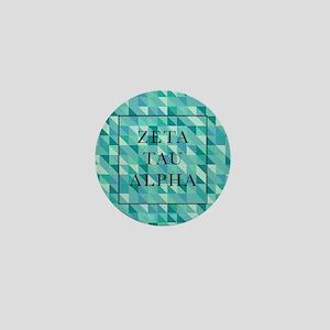 Zeta Tau Alpha Geometric FB Mini Button