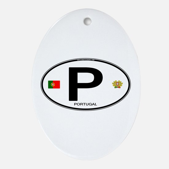 Portugal Intl Oval Oval Ornament
