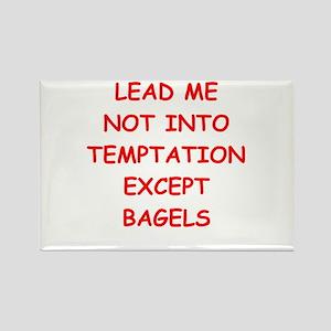 BAGELS Rectangle Magnet