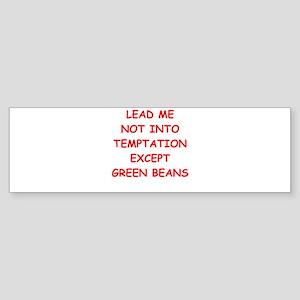 GREEN BEANS Sticker (Bumper)