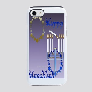 Hanukkah Stars iPhone 7 Tough Case