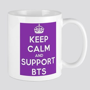 Keep calm and support BTS Mugs